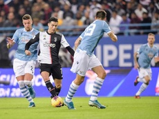 La Lazio vince la Supercoppa italiana. Twitter/JuventusFC
