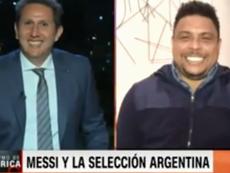 Ronaldo was interviewed by 'CNN'. Captura/CNN