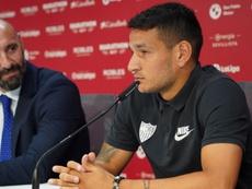 Rony Lopes ne convainc pas Lopetegui. SevillaFC