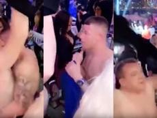 Barkley, blessé, fait la fête à Dubai. YouTube/BestOfCompilations