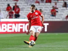 Ruben Dias has attracted interest from Manchester United. Twitter/SLBenfica