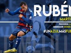 Rubén Martínez, nuevo jugador del Melilla. UDMelilla
