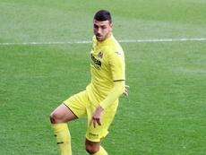 El delantero disputará su primer derbi. VillarrealCF