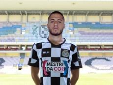 O avançado de 19 anos reforça um elenco carente de opções para a posição '9'. BoavistaFC
