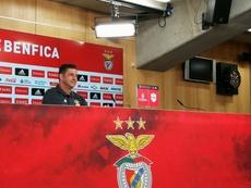 O treinador do Benfica já não pode contar com Krovinovic (lesionado). Twitter/SLBenfica