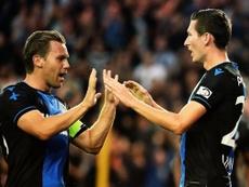 La UEFA le mantiene la sanción a Vormer. AFP