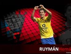 Ruymán Hernández, presentado como nuevo jugador del CD Mirandés. CDMirandés