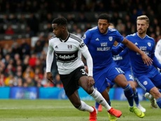 Tottenham will not let Ryan Sessegnon (L) go to Barcelona. AFP