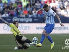 Eguaras renovó con el Zaragoza. LaLiga