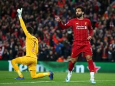 Salah tiene muchas posibilidades de estarante el United. Twitter/LFC