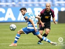 Ambos se lesionaron en el partido ante el Compostela. LaLiga