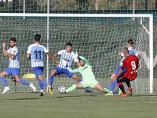 El Málaga cae ante el Mallorca. MalagaCF