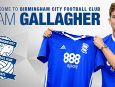 Sam Gallagher ya es del Birmingham. BCFC