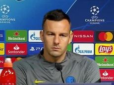 Handanovic habló en la previa. Captura/InterTV