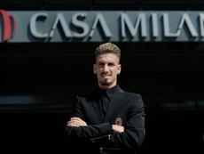 Castillejo está muy satisfecho con el grupo que ha encontrado en su nuevo equipo. ACMilan