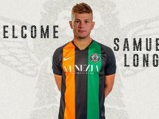 Longo jugará a partir de ahora en la Serie B. Twitter/VeneziaFC_IT