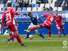 El Oviedo supo aprovechar las que tuvo ante el Nàstic. LaLiga