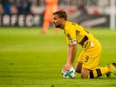 A equipe de Peter Bosz desiludiu na deslocação a Estugarda. Twitter/BVB