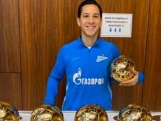 No es Messi, pero sí argentino y también tiene seis Balones de Oro. Twitter/zenit_spb
