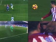 Torres firmó ante el Celta uno de los mejores goles de su carrera. Captura/LaLiga