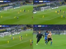 Barella ha salvato l'Inter. Movistar/LigadeCampeones