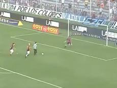 Sequeira marcó el 2-0. Captura/TNTSports