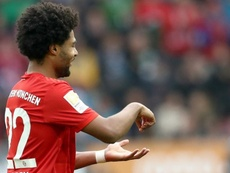 Gnabry put Bayern ahead, but it was not enough for all three points. Twitter/FCBayern