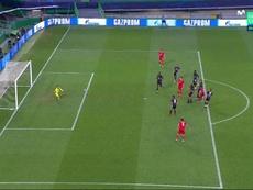 Gnabry porta in vantaggio il Bayern. MovistarLigadeCampeones