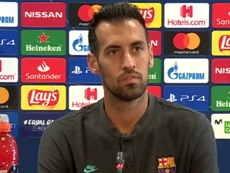 Busquets analizó el choque con el Nápoles. Captura/Movistar