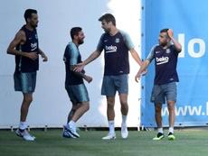Ya están todos. Twitter/FCBarcelona_es
