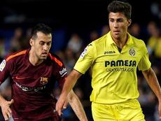 El futbolista madrileño fue clave en la victoria del Villarreal ante el Madrid. EFE