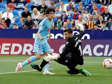 Sergio Camello podría ser uno de los tres de arriba en Copa. Twitter/Atleti