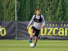 Sergio espera que los últimos tres puntos del año sean para el Cádiz. CádizCF