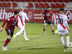 Sergio Moreno jugó contra el Rayo. LaLiga