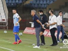 Pellicer sueña con el ascenso al frente del Málaga. LaLiga