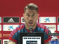 Ramos tuvo buenas palabras para Jordi Alba. Captura/Youtube