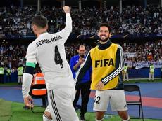 Isco n'a pas foulé la pelouse lors de la finale. AFP