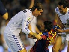 Nem todos se recordam da final da Taça do Rei como violenta. AFP