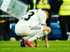 Reguilón pourrait quitter le Real cet été. Twitter/SergioReguilón