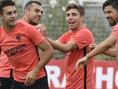 Sergio Reguilón ha sido titular en los dos partidos de inicio de Liga. Archivo/SevillaFC