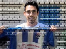 El ex del Fuenlabrada Sergio San José vestirá los colores del Talavera esta temporada. CFTalavera