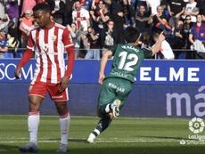 La SD Huesca venció al Almería. LaLiga