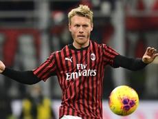 Le Milan va executer l'option d'achat de Kjaer. AFP