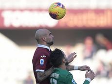 Zaza y Ansaldi hicieron los goles para el triunfo del Torino. Twitter/TorinoFC_1906