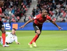 Privat anotó el único gol del partido. AFP
