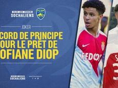 Sofiane Diop llega como cedido al Sochaux. FCSochaux