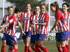 El Atlético cede un punto en el Metropolitano. AtletiFemenino
