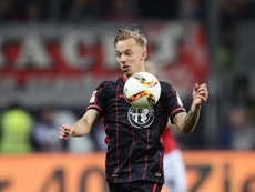 Sonny Kittel dejará de ser futbolista del Eintracht de Frankfurt. Archivo/AFP/EFE