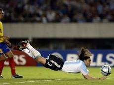 Sorín fue un ídolo en Cruzeiro. Argentina