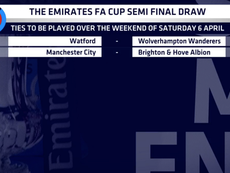 FA Cup semi-final draws. EmiratesFACup